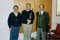 Eddy Vanoosthuyse, Luis Rossi (masterclass Catholic University Santiago de Chile)