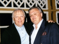 Saulius Sondeckis (conductor Lithuanian Chamber Orchestra) and Eddy Vanoosthuyse