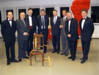 Ciurlionis String Quartet (Lithuania) with Ambassador of Lithuania, Council of Lithuania and mr. Jean de Bethune