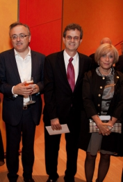USA Ambassador Howard Gutman, mrs. Gutman, Eddy Vanoosthuyse