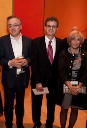 USA Ambassador Howard Gutman, mrs. Gutman, Eddy Vanoosthuyse