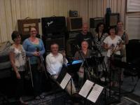 Katherine McLin/violin, Sarah Schreffler, violin, Nancy Buck/viola, Jenna Dalbey/cello, Robert Spring/clarinet