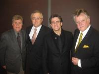 Stanley Drucker (New York Philharmonic), Eddy Vanoosthuyse, Dirk Brossé (composer, artistic director Chamber Orchestra of Philadelphia), Karl Leister (Berliner Philharmoniker)