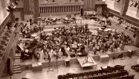 recording the Corigliano Concerto with the BRUSSELS PHILHARMONIC, cond. Paul Meyer