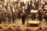 After performance of the Clarinetconcert by Jan Van der Roost with Lviv Philharmonic (Ukraine)