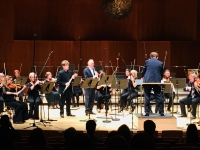 Performing the worldcreation of the double concerto by Eric Desimpelaere with the Györ Symphony Orchestra (Hungarian Radio Orchestra). With Eric Speller oboe