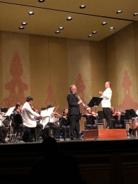Performing with Knoxville Symphony Orchestra (USA)
