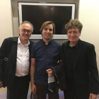 After the worldpremiere of the double concerto by Eric Desimpelaere in Gyor/Hongary (with the composer and Eric Speller, oboe)