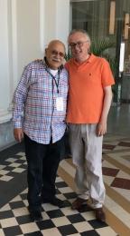 With Giora Feidman
