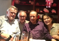 With Karl leister, Charles Neidich and Ayako Oshima